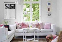 Boliginspiration / Ting, der inspirerer mig til, hvordan jeg skal indrette min bolig