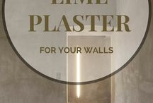 STUNNING LIME PLASTER FINISHES / Celebrating the incredible natural material finish, lime plaster. #renderitoz #limeplaster #melbourne