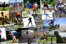ROLLERSKIING / Rollerskiing, Cross Skating, Cross Country Ski, Ski roues, Nordic Blanding, Cross Blading, Inline Skating, Esquís de ruedas, Rullskidors, Skiroll, Skiroller, Kolečkové, Rullahiihtoa, Pолик лыжах, Rulleski, Roller Blading