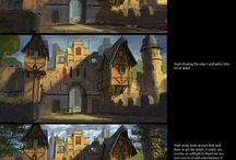 Ilustracja Budynki