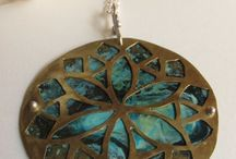 My Mandalas Handmade By Padma / Mandala Necklace, earrings and rings