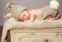 spring/easter newborn photos / by Courtney Lou