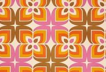 wallpaper and patterns / Diseños de papeles y patrones