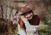Girl's Senior Poses - Ideas