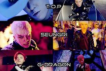 BIGBANG / T.O.P G-Dragon Taeyang Daesung Seungri