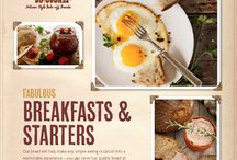 Bread: Breakfasts & Starters / Our bread will help make any simple eating occasion into a memorable experience - you can serve top quality bread at any time of the day www.breaddujour.co.uk