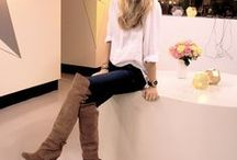high knee boots outfits