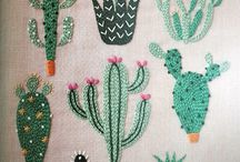 Embroidery ideas / Amazing crafts ideas of embroidered flowers.