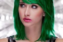 St Patrick's Day Green Wigs