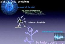 Sleep'n Sync / Sleep'n Sync's programs are designed for children, they are short audios designed to be played to them during their sleep on an every day basis for 6 weeks to help them correct and overcome problems they might face in their life