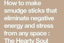 Smudge Sticks - how to make