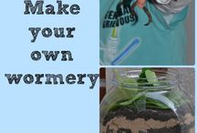 Earthworms / learning ideas on the topic of earthworms