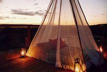 {{.. Sleeping under the stars..}}