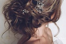 romantic hair wedding