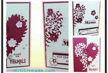 Love Valentine Stampin'UP / Ideen aus Papier und gestempelt zum Thema Love & Valentine, Liebe, Hochzeit