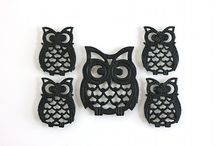 OWLS / What causes that some species are so popular in design in some eras? Like owls in 50s