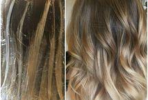 the hair balayage
