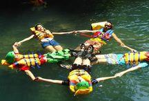 petualangan body rafting / Wahana air