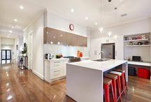 Kitchen study space