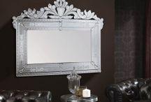 ESPEJOS VENECIANOS / Ideas y propuestas para decorar tu hogar con espejos estilo veneciano
