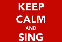 keep calm)