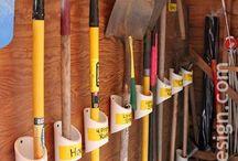 Garage organizational tips