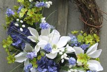 DOOR WREATHS - All OCCASSION - ODONNA / All occasion door wreaths.