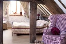 Ideas for my attic bedroom / by Kate Bowyer
