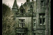 manoir / magnifique demeures abandonnés