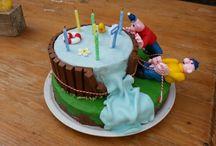 verjaardag, taart en fondant ideeën