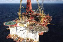 plataformas e navios