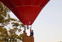 Hot Air Ballooning near Eumundi / A morning float over the Eumundi Hinterland