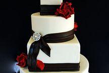 Rødt og svart bryllup