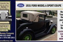 1931 Ford Model A Sport Coupe - LeBaron Bonney Company / 1931 Ford Model A Sport Coupe - Customer Installation - 019 - LeBaron Bonney Company