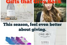Gift Ideas / Gift Giving ideas, social impact gift giving
