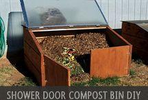 Compost/clothes lines