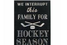 Hockey Signs at Dream Weaver