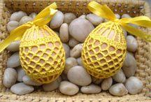 hackované vajíčka