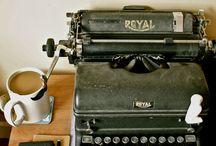 Maquinas de escribir.