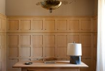 panelling / panels, boards, moulds, walls, borders, dado