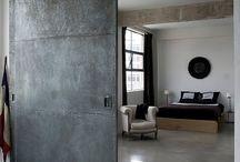 Room divider door