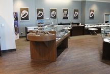 """2016 INSTORE-Special Feature of Interior Design: Storey Jewelers / Transitional design for Storey Jewelry by Leslie McGwire & Associates: Interior Design Company. Storey Jewelers was honred by having interior design that was """"CLICHE-BUSTING STYLE."""""""