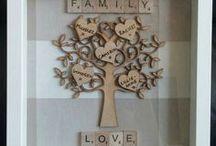 frame box famiglia