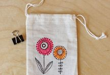 The Crafty Bag / Calico bags, Muslin bags and Burlap bags can be used for crafting and special event purposes. They make a great DIY craft for parties or hold gifts.