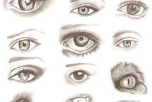 drawing tips / p  r   a   c   t   i   c   e / by Jill Bot