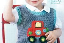 Crochet baby, toddler etc. clothes