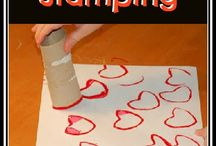 Preschool Valentine's Day / Games and ideas for teaching preschoolers with a Valentine's Day theme in speech therapy
