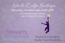 Arts & Crafts Boutique 2015! / Come visit us at the 2015 Arts & Crafts Boutique at St. Paul's Episcopal Church on W. Market St. in Akron! Saturday, October 24, from 10:00am - 4:00 pm