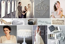 Wedding Inspiration Boards / Wedding theme, colour & style inspiration boards.