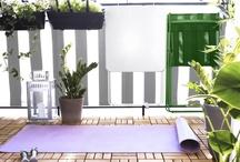 Balcony Yoga Studio / by Myra Barrera